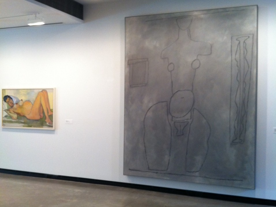 Process: Grey Female Painting At Portland Museum – William